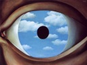 Magritte - The False Mirror, 1928